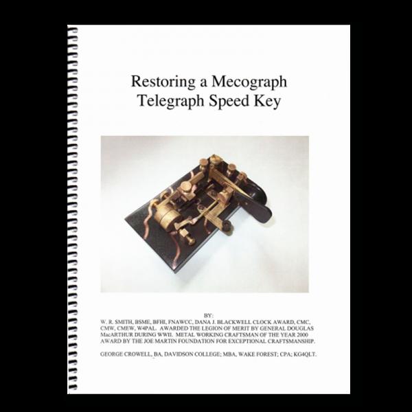 restoring-a-mecograph telegraph speed key